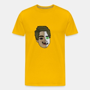 KamillPlayZ Rajzolt Fej - Men's Premium T-Shirt