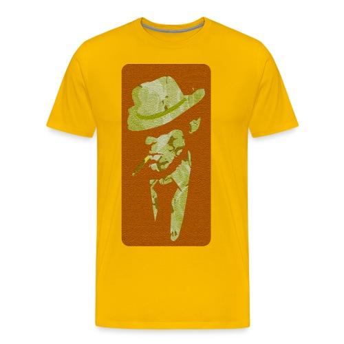 Royal legend with hat - Men's Premium T-Shirt