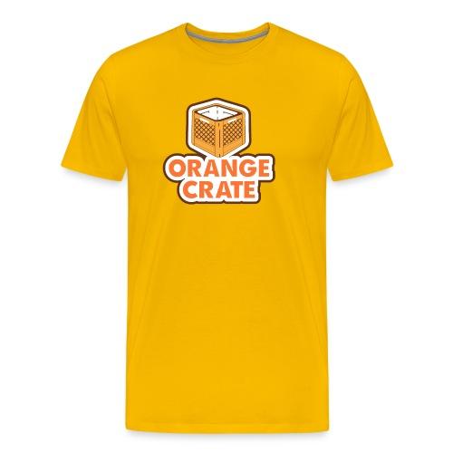 Logo Vertical Clear - Men's Premium T-Shirt