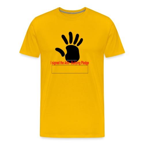 Bully pledge - Men's Premium T-Shirt