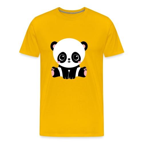 Adorable Panda - Men's Premium T-Shirt