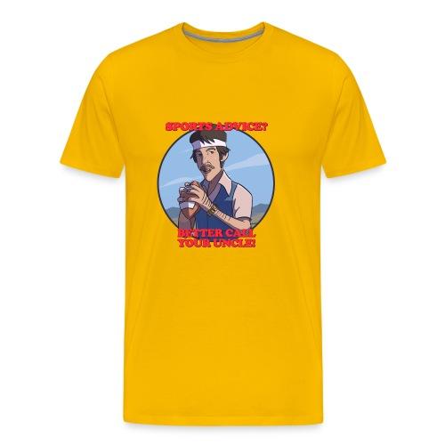 Uncle Odds Fantasy Football Player DFS - Men's Premium T-Shirt