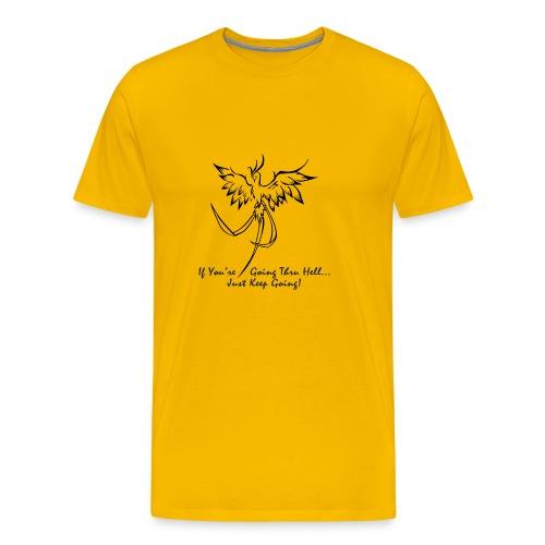 goingthruhell3000 - Men's Premium T-Shirt