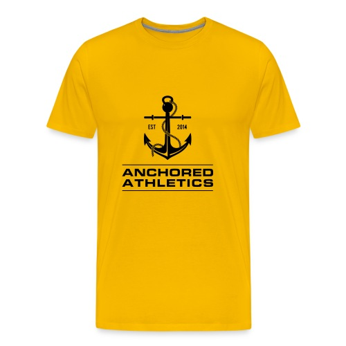 Anchored Athletics Classic Logo - Men's Premium T-Shirt