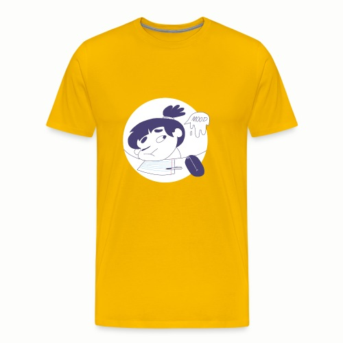 school mood - Men's Premium T-Shirt