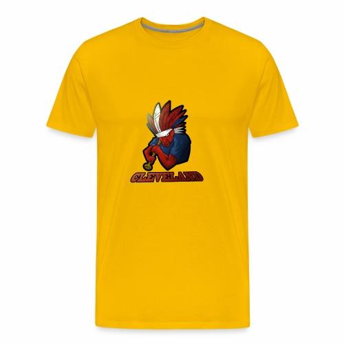 Cleveland Baseball Fan - Men's Premium T-Shirt