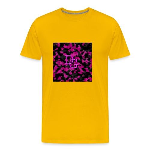 pink camo - Men's Premium T-Shirt