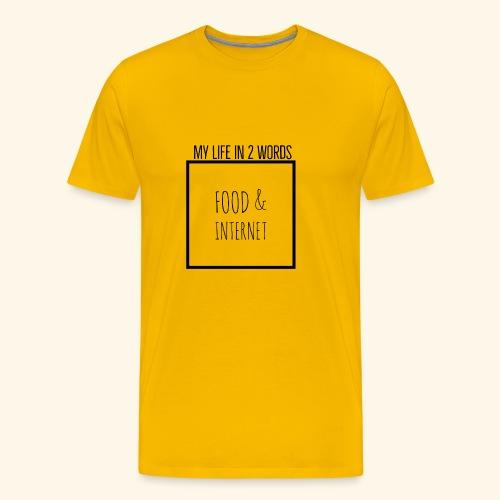 EB41B054 9076 4143 813B A25101C43DFA - Men's Premium T-Shirt