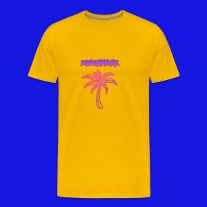 pink fire - Men's Premium T-Shirt