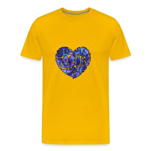 Hippie's Heart - Men's Premium T-Shirt