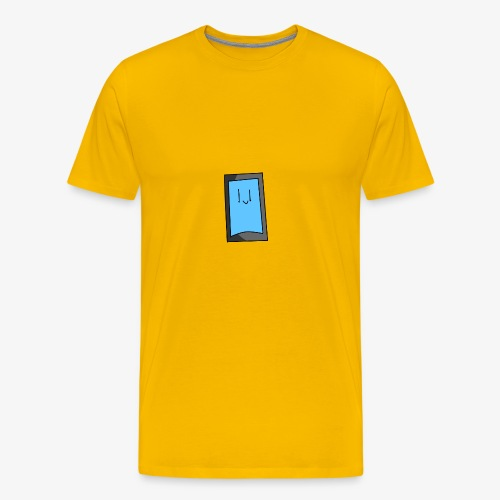 hELLO i am ur phone - Men's Premium T-Shirt