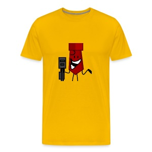 And Then He Went Like - Men's Premium T-Shirt