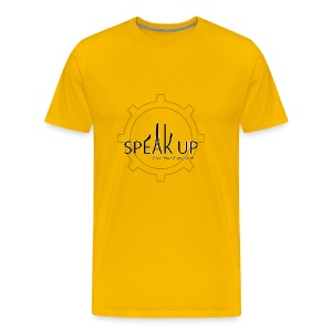 speak up logo 1 - Men's Premium T-Shirt