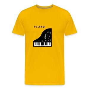 Piano - Men's Premium T-Shirt