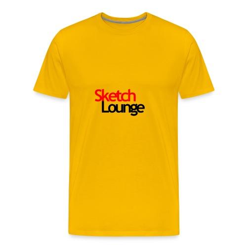 SketchLounge Logo - Men's Premium T-Shirt