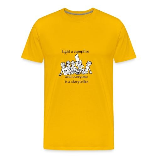 story teller - Men's Premium T-Shirt