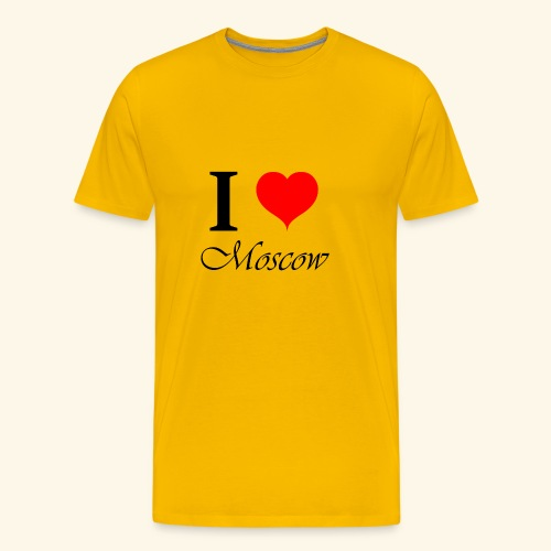 I love Moscow - Men's Premium T-Shirt