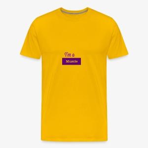 I'm a muscle - Men's Premium T-Shirt
