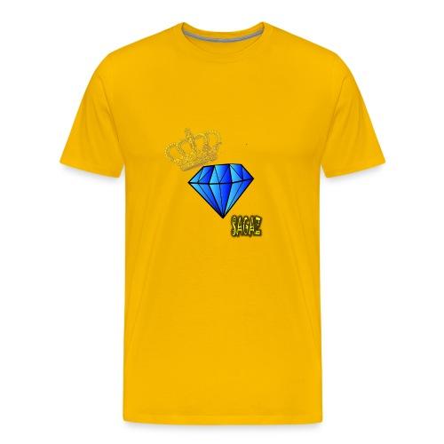 Sagaz diamante - Men's Premium T-Shirt