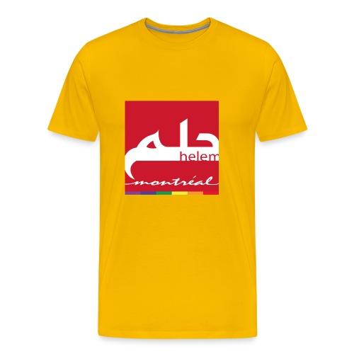 Helem Montreal Logo - Men's Premium T-Shirt
