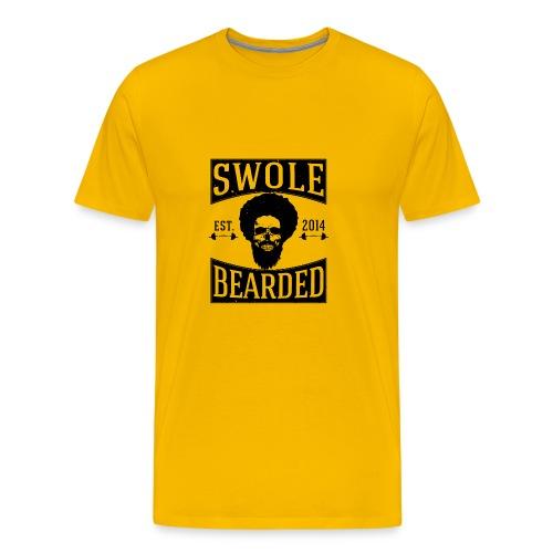 Swole And Bearded Classic Tee - Men's Premium T-Shirt