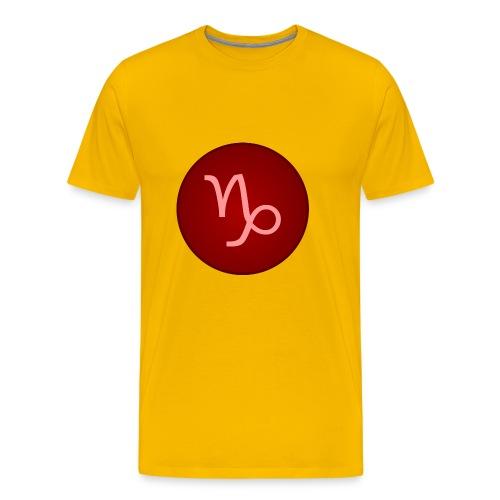 Capricorn Symbol - Men's Premium T-Shirt