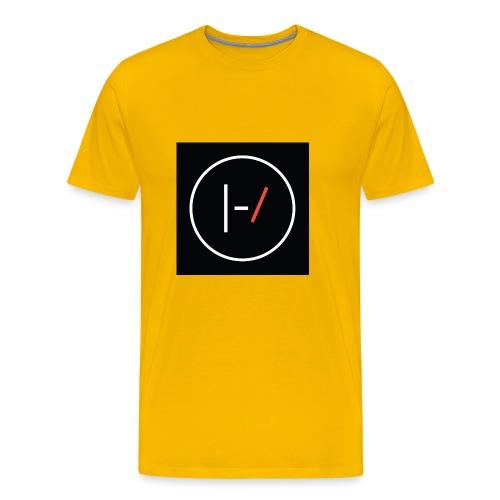 Twenty one pilots Blurryface pin - Men's Premium T-Shirt