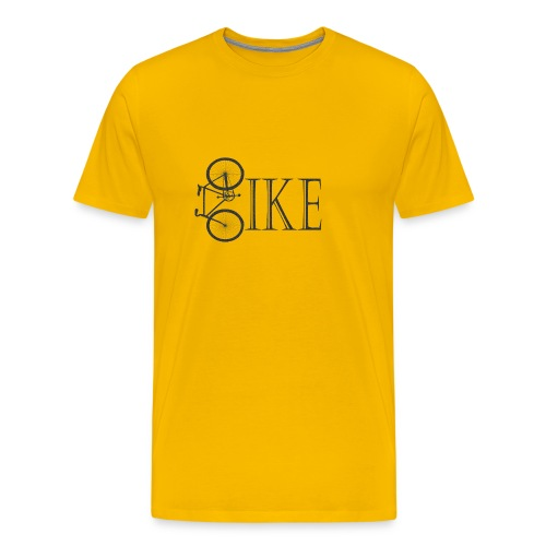 Bicycle Bike Design - Men's Premium T-Shirt