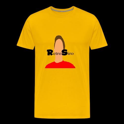 RetroSiro face - Men's Premium T-Shirt