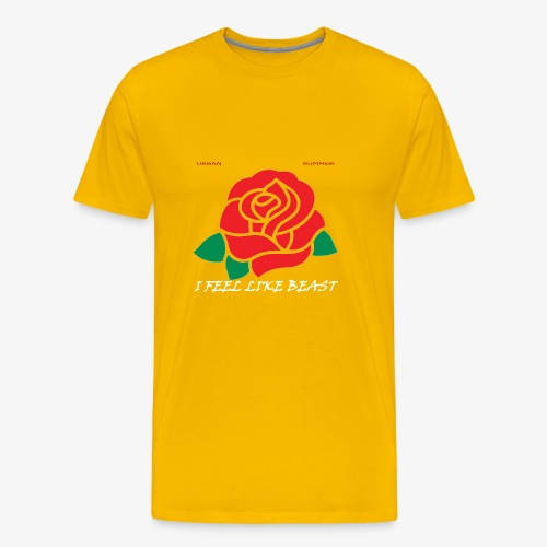Rose Logo - Men's Premium T-Shirt