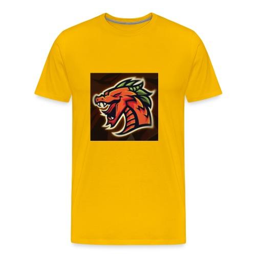 Crazy shooter logo - Men's Premium T-Shirt