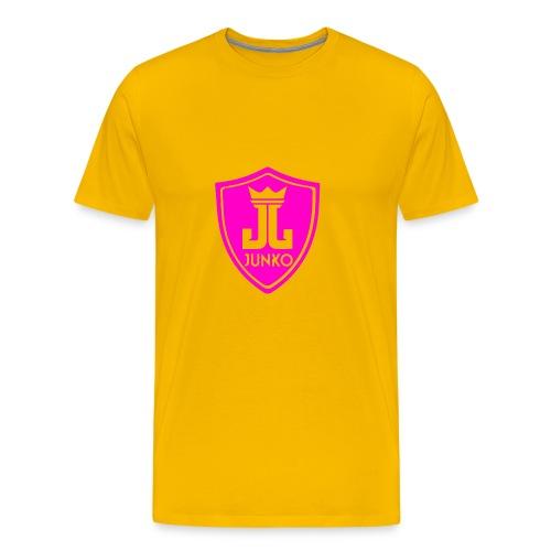 DJ Junko Pink Logo - Men's Premium T-Shirt