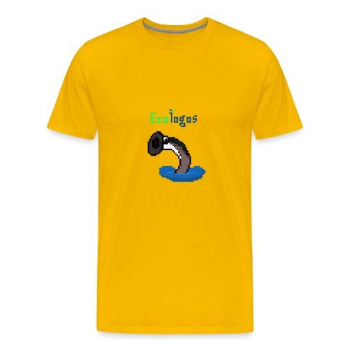 Pixel Sea Lamprey - Men's Premium T-Shirt
