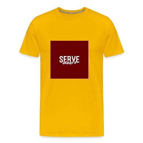 Serve Others Wallpaper - Men's Premium T-Shirt