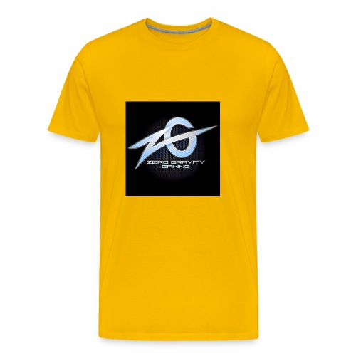 zeroGamingGRAVITY logol - Men's Premium T-Shirt