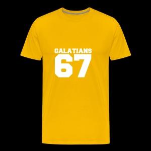 G67 White - Men's Premium T-Shirt