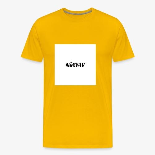 NuWAV Logo - Men's Premium T-Shirt