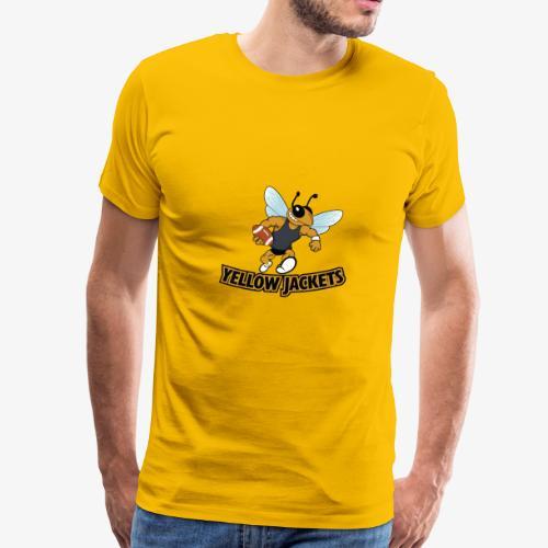 Yellow Jacket Football - Men's Premium T-Shirt
