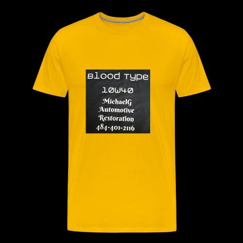 Blood Type - Men's Premium T-Shirt