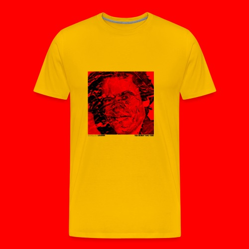 Ted Bundy, portrait of a legend. - Men's Premium T-Shirt