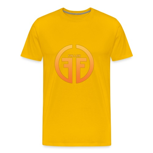 Fallen Esports Yellow Design - Men's Premium T-Shirt
