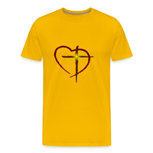 Cross My Heart - Men's Premium T-Shirt