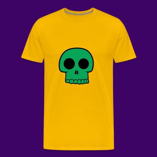 Green Skull - Men's Premium T-Shirt