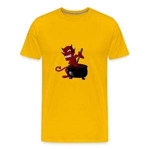Devil Soup - Men's Premium T-Shirt