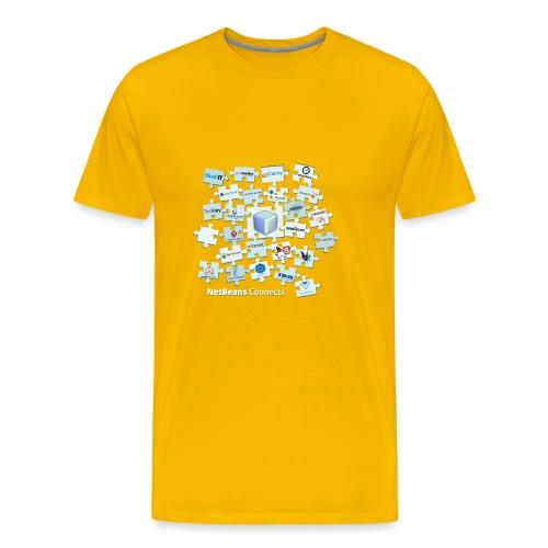 NetBeans Connects - Men's Premium T-Shirt
