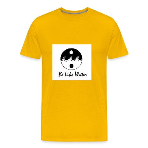 Be Like Water YING - Men's Premium T-Shirt