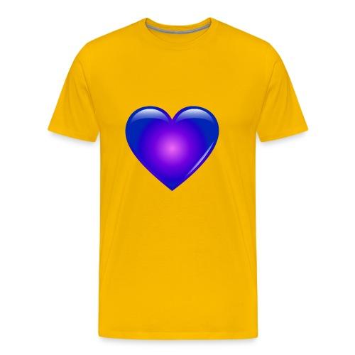 Blue Heart - Men's Premium T-Shirt