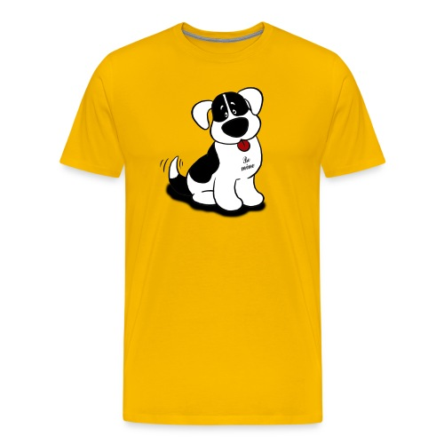 Be Mine Dog - Men's Premium T-Shirt