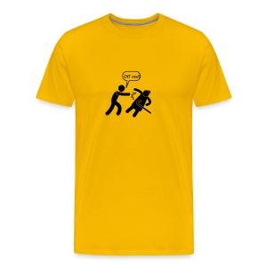Off Me!!! - Men's Premium T-Shirt