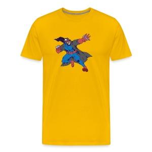 Jason has attained hero status - Men's Premium T-Shirt